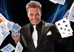 Sydney Magician Matt Hollywood